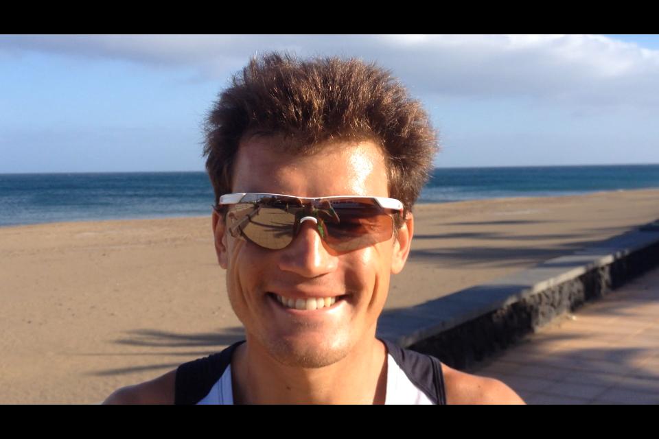 IRONMAN LANZAROTE: Interview impromptue de Romain Guillaume