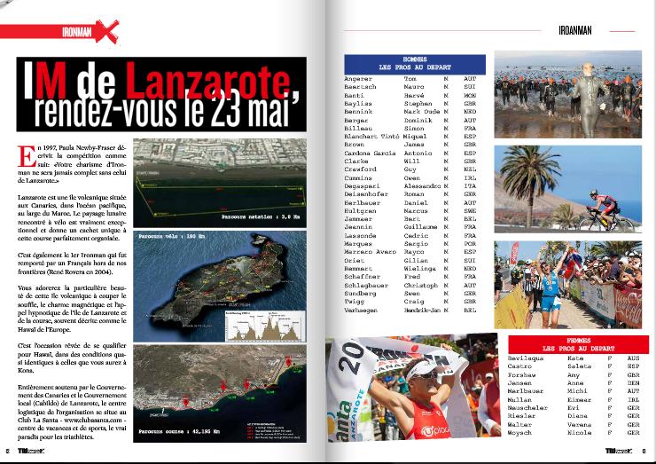 TrimaX#140 vous donne rendez-vous le 23 mai à l'IM de Lanzarote