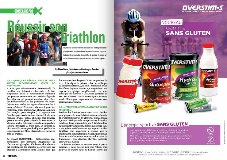 Découvrez ce mois-ci dans TrimaX#140 : Réussir son triathlon