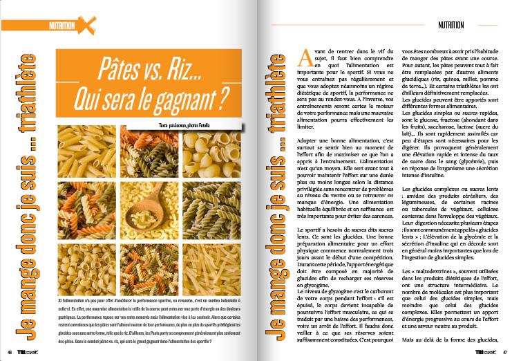 Découvrez dans TrimaX#140 qui sera le gagnant entre les pâtes et le Riz…