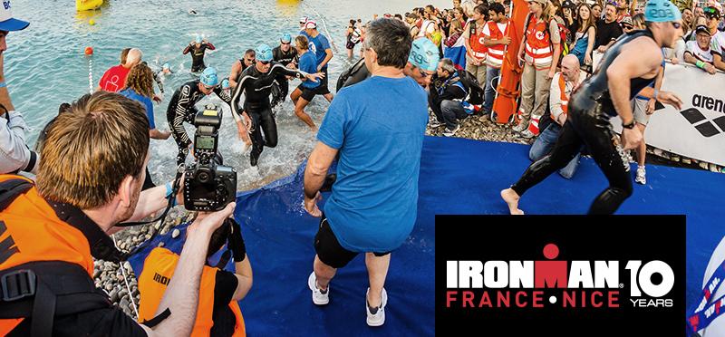 Venez vivre les 10 ans de l'IRONMAN France Nice en tant que média