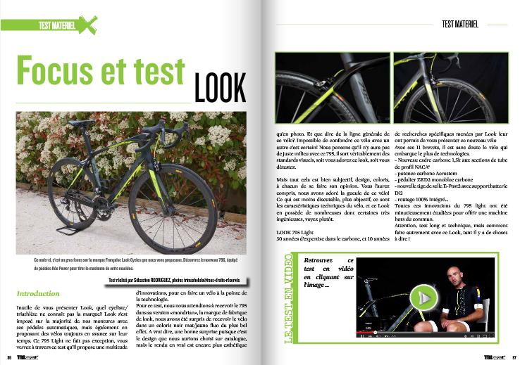 Focus et test LOOK a découvrir dans TrimaX#140
