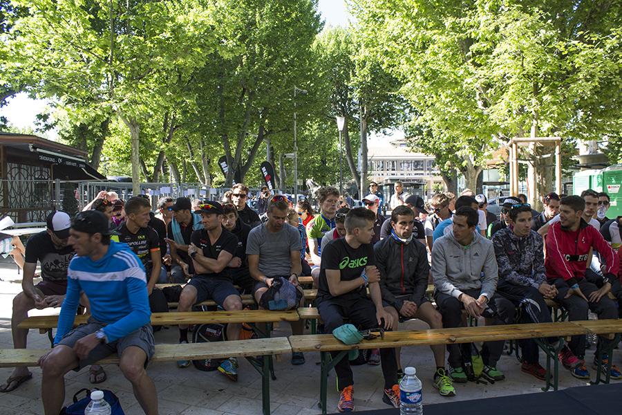 IRONMAN 70.3 Pays d'Aix : Les pros se sont retrouvés ce matin, info LIVE Coverage