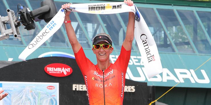 Ironman 70.3 Mont Tremblant: Sanders et Kessler remportent la mise