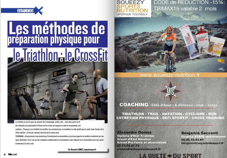 A découvrir dans TrimaX#141 : le CrossFit