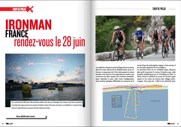 Coup de projo sur l'Ironman France dans TrimaX#141