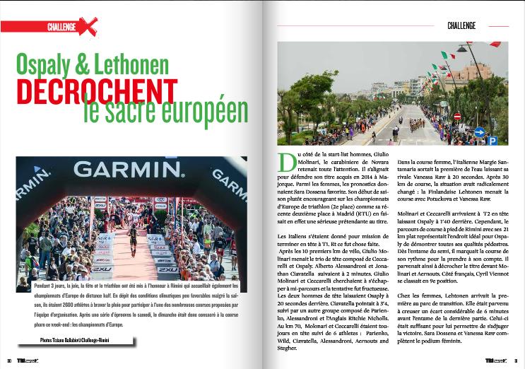 A lire dans TrimaX#141 : Ospaly et Lethonen décrochent le sacre européen