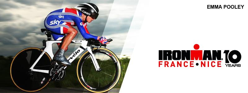 Une championne du monde cycliste à l'IRONMAN France Nice !