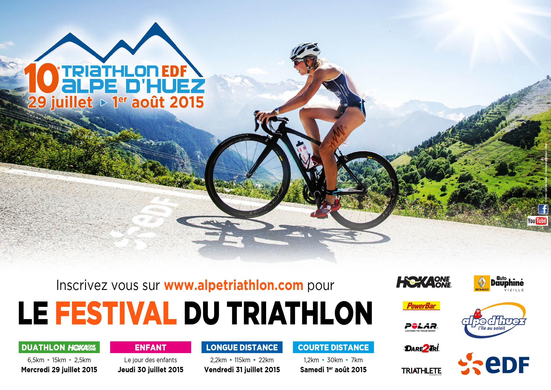 Triathlon de l'Alpe d'Huez: Trimaxhebdo partenaire, suivez les courses sur notre site !