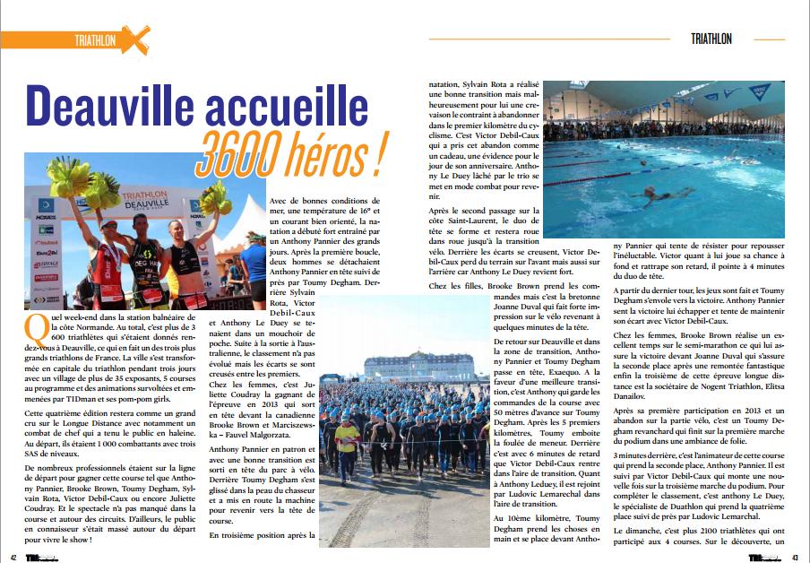 A lire dans TrimaX#142 : Deauville accueille 3600 héros