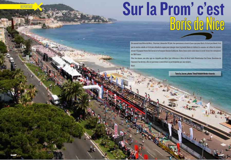 A lire dans TrimaX#142 : Sur la Prom' c'est Boris de Nice