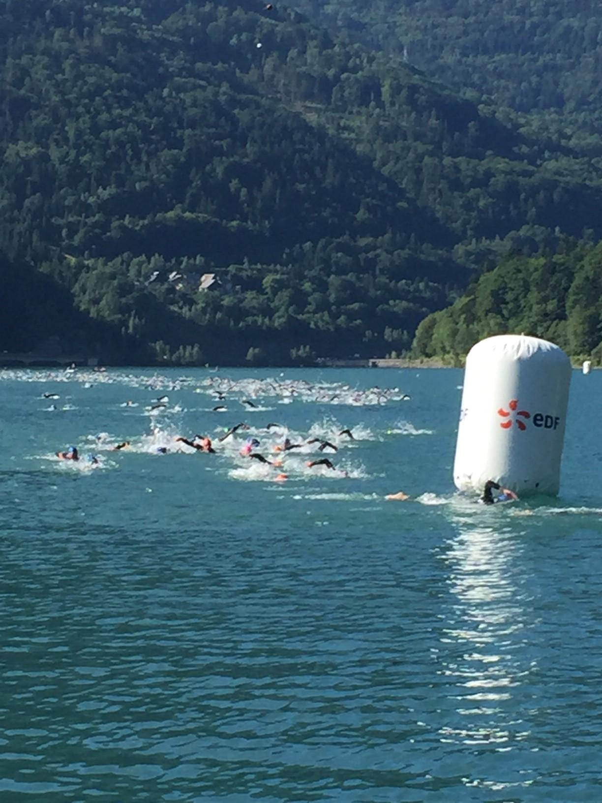 1er tour natation