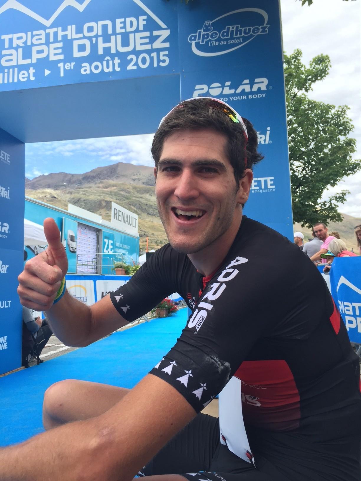 Arnaud Guilloux vainqueur du LD de l'Alpe