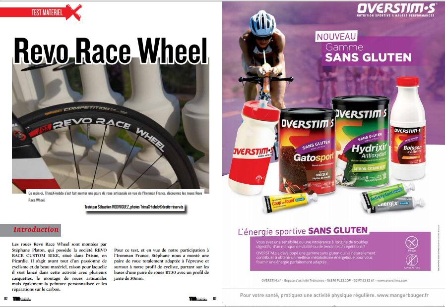 TrimaX#142 a testé ce mois-ci les Revo Race Wheel