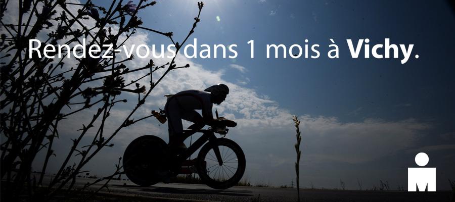 L'IRONMAN Vichy, c'est dans un mois pour les 3500 triathlètes