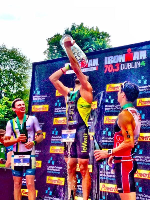 Denis CHEVROT vainqueur de l'Ironman 70.3 de DUBLIN !