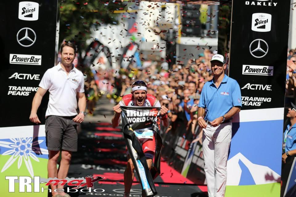 Frodeno et Ryf champions Ironman 70.3 en Autriche
