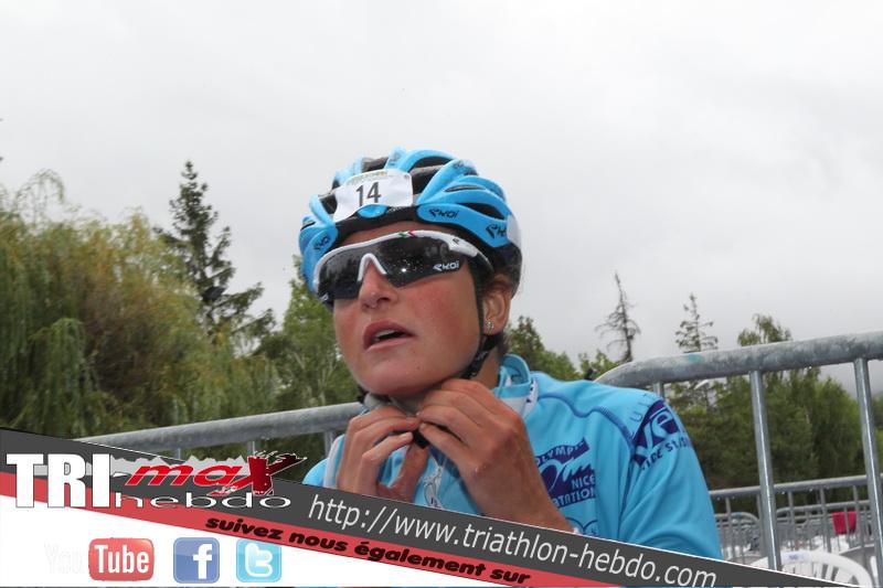 Jeanne Collonge en deuxième position