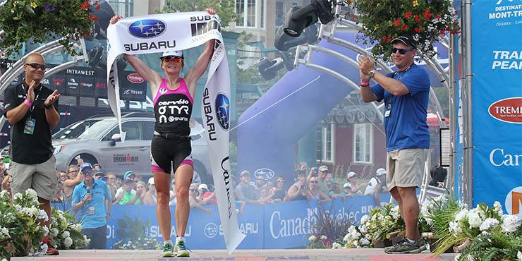 Trévor Delsaut 6e de l'Ironman de Mont-Tremblant, Rapp et Ellis vainqueurs