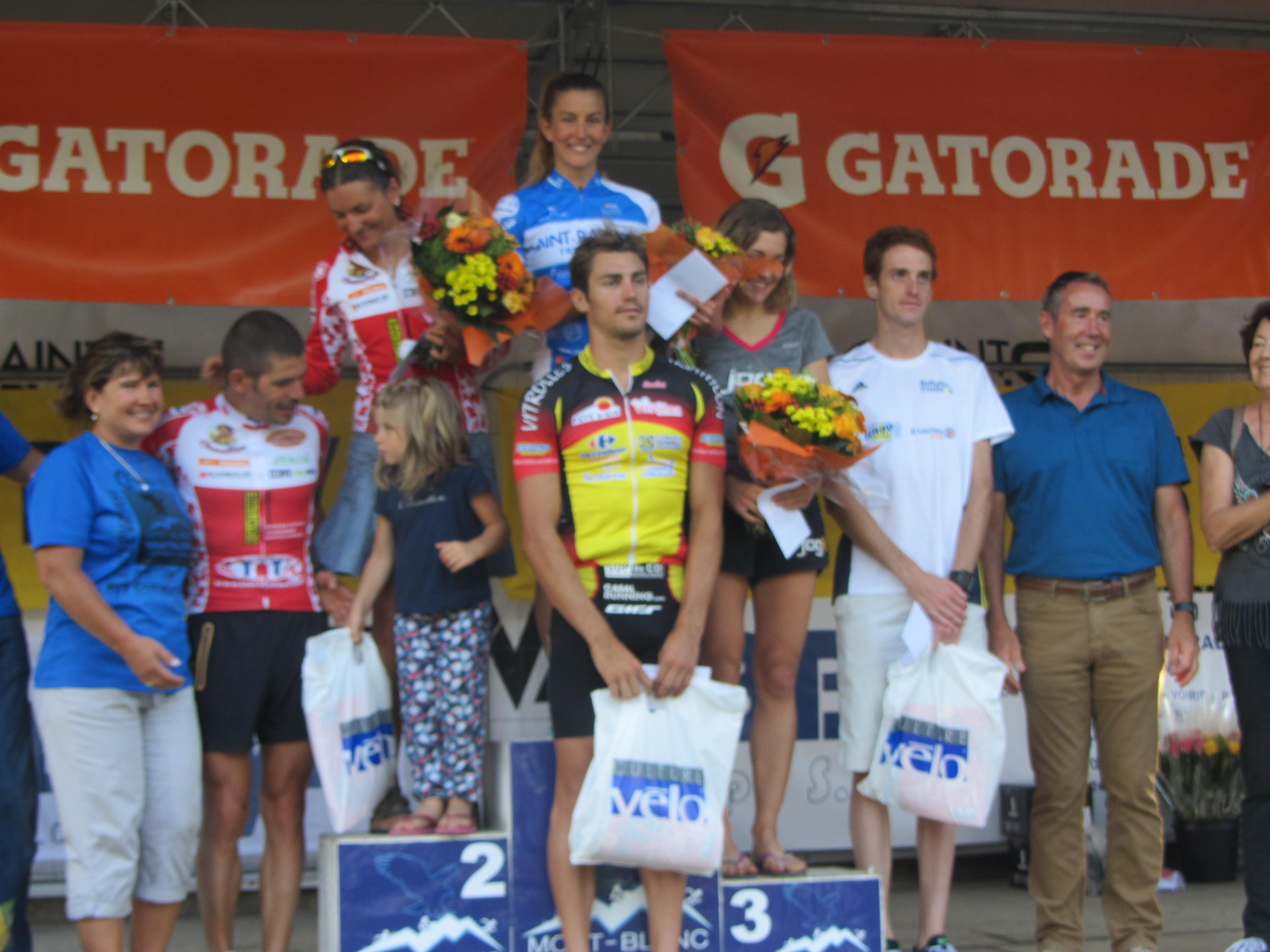 Nicolas Alliot et Héloïse Bottin s'imposent au Triathlon M du Mont Blanc