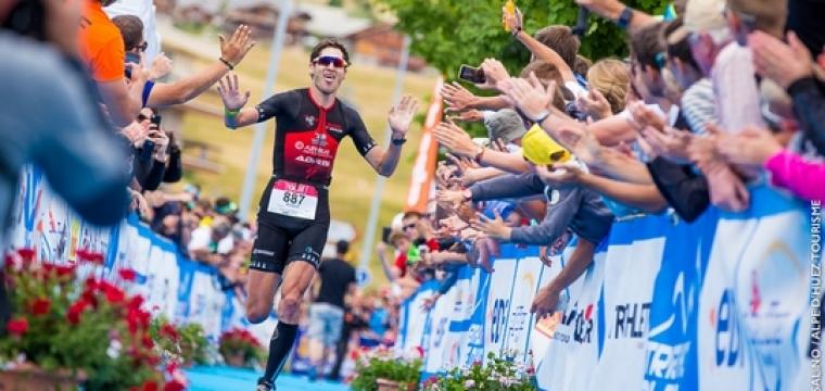 Le 52′ du 10e Triathlon EDF Alpe d'Huez Longue Distance