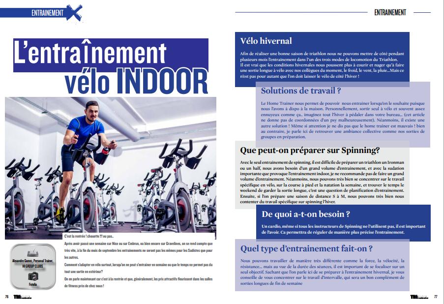 A découvrir dans TrimaX#144 : L'entraînement vélo INDOOR