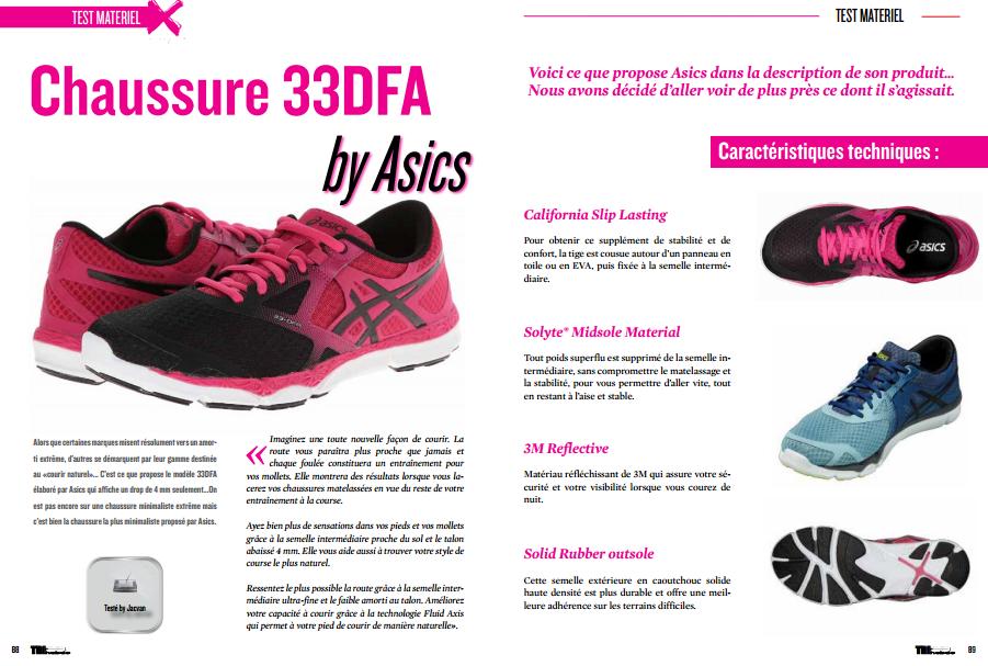 TrimaX#144 a testé pour vous les chaussures 33DFA by Asics