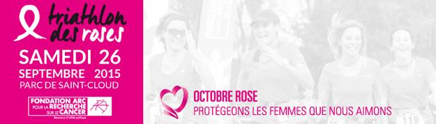 J-2 avant le Triathlon des Roses – Paris – 100 % féminin – Virginie Ledoyen, Valérie Payet, Priscilla Gneto se mobilisent pour la lutte contre le cancer du sein