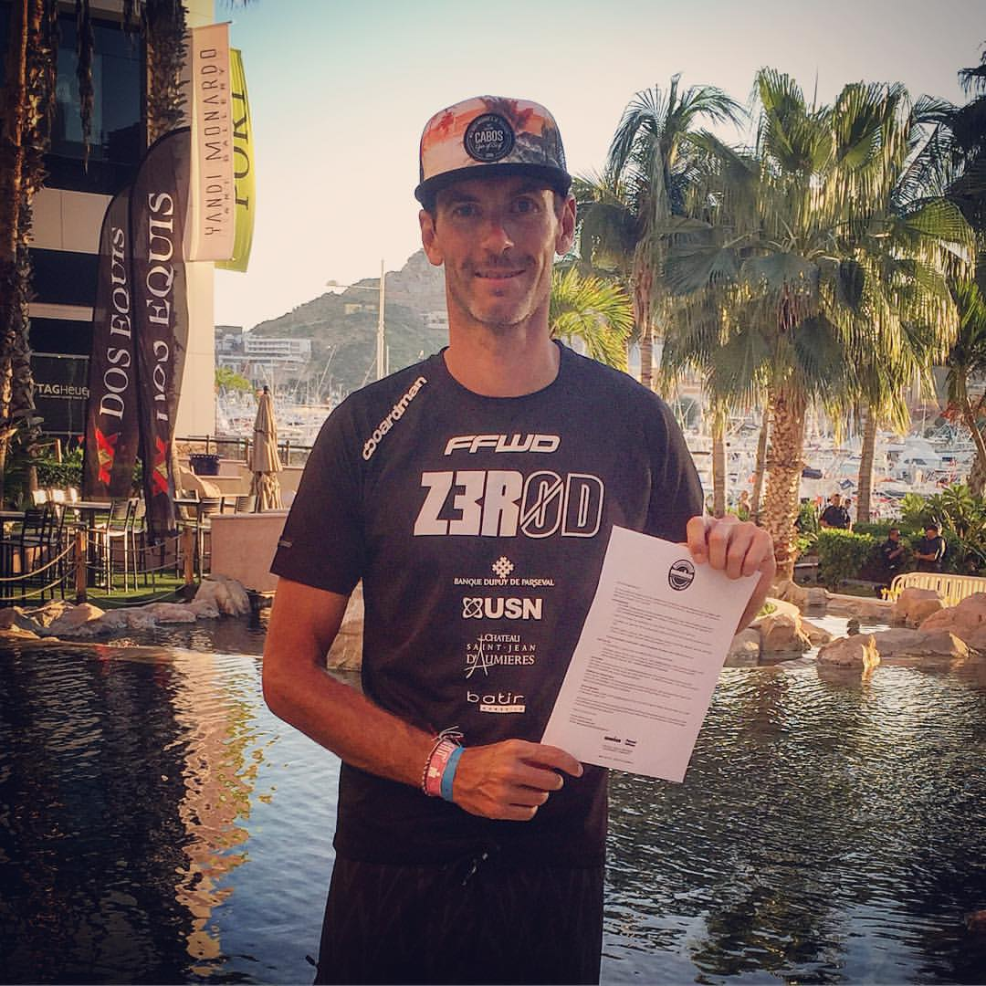 Ironman de Los Cabos : Xavier Fanovard 3ème