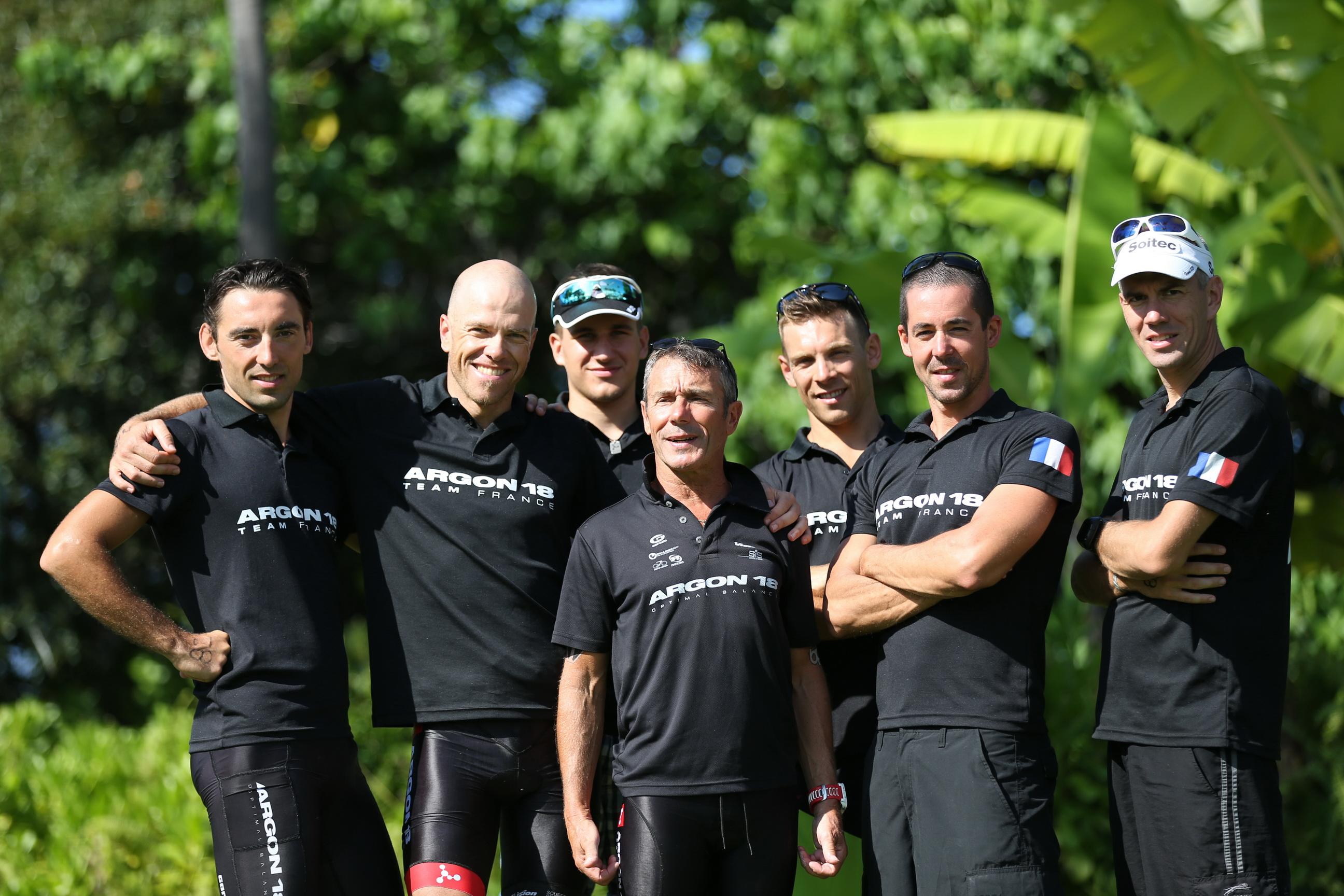 KONA 2015: Présentation du Team Argon 18 France