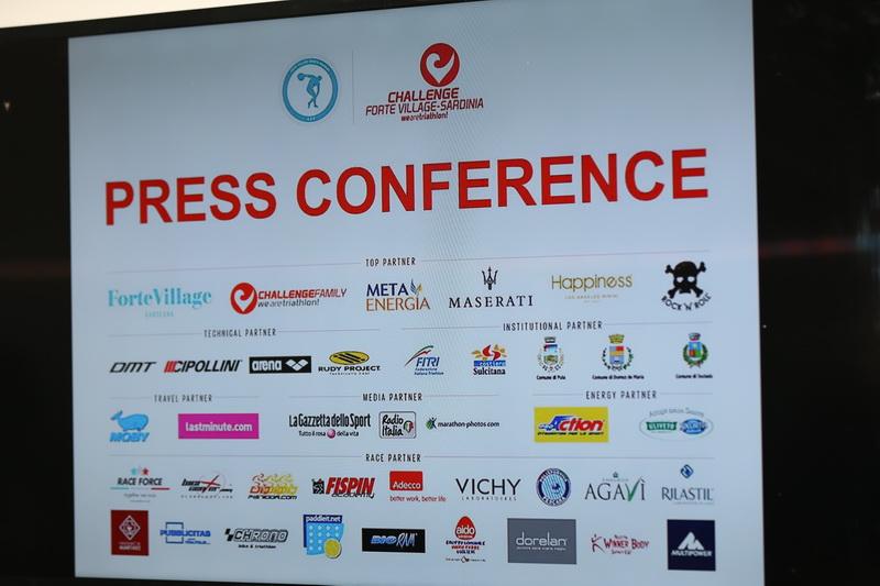 Triathlon Challenge Forte Village: la conférence de presse