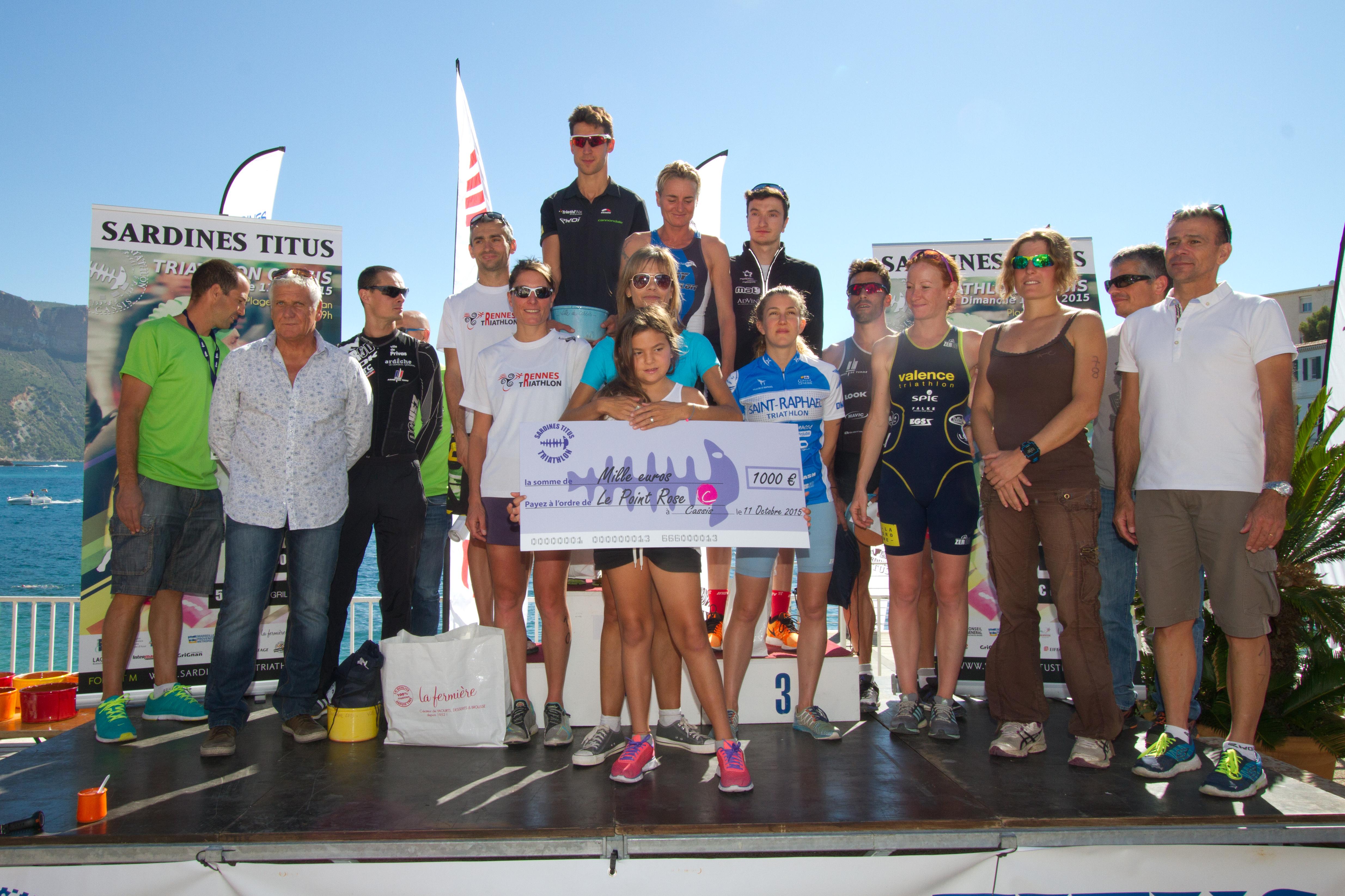 Sardines Titus Triathlon: Victoire de Bertrand Billard