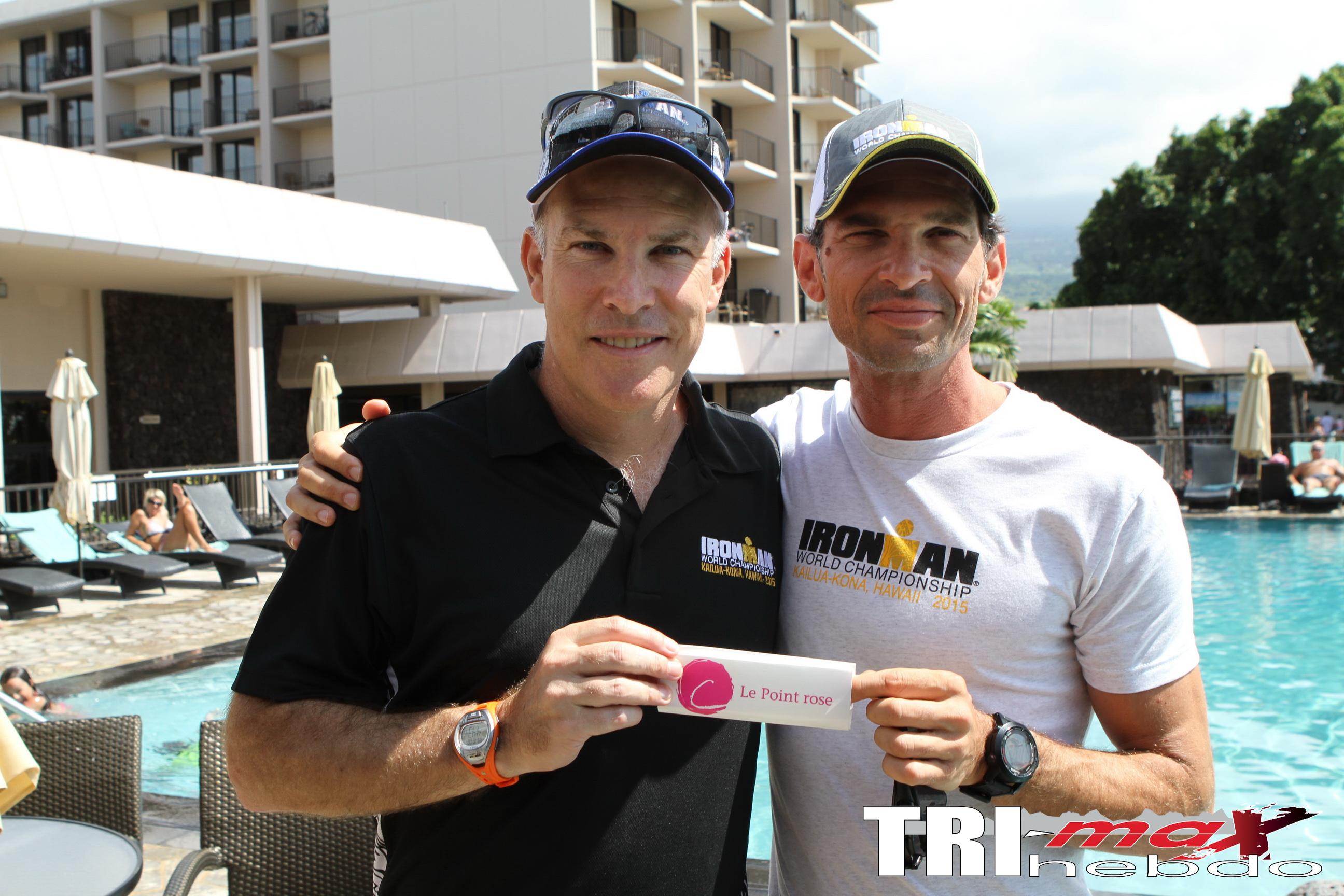 Andrew Messick soutien pour l'Association le point Rose