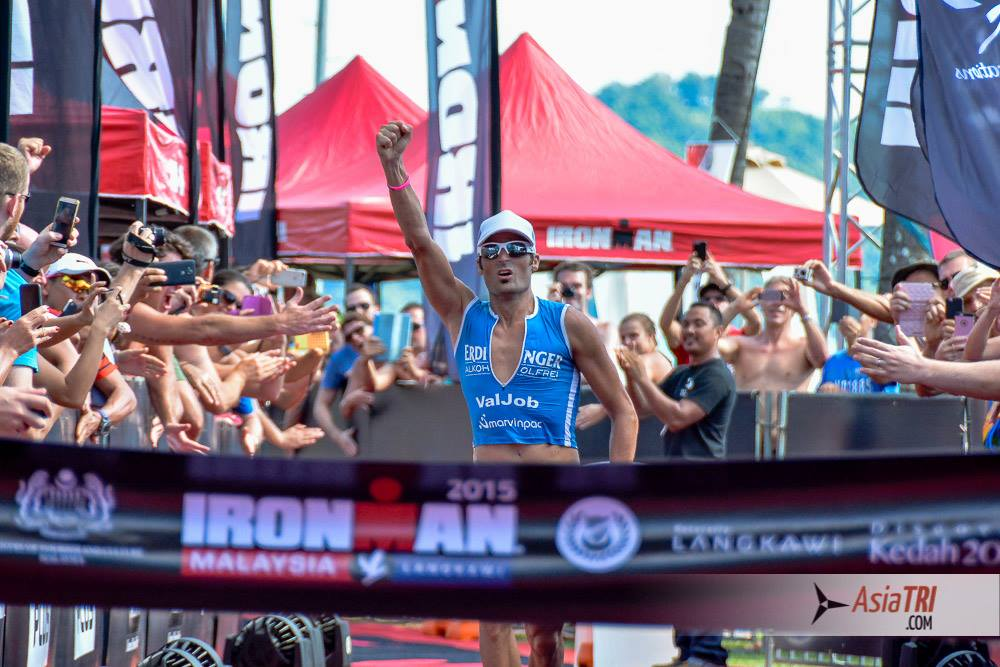 Ironman de Malaisie: 1ère victoire sur la distance pour Mike Aigroz