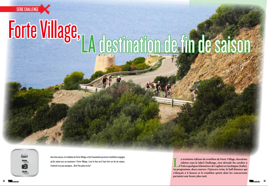 A lire dans TrimaX#146 : Forte Village, LA destination de fin de saison