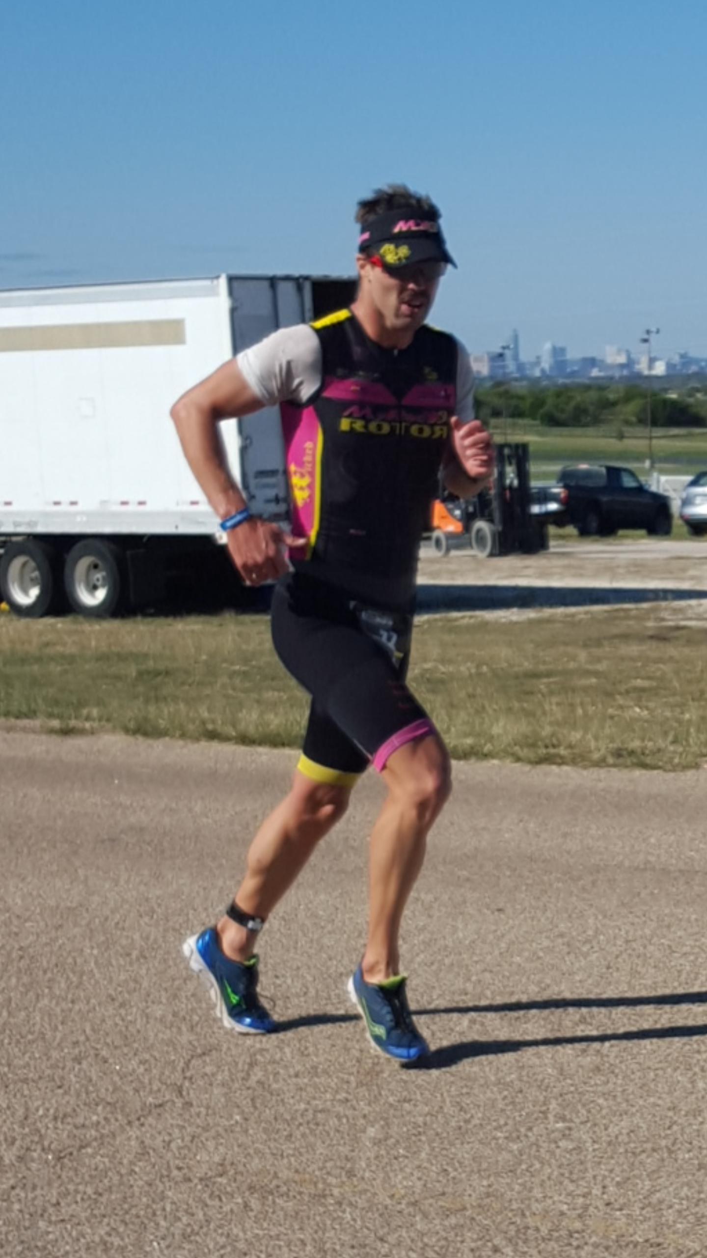 L'Ironman 70.3 Austin par Rod De Kanel