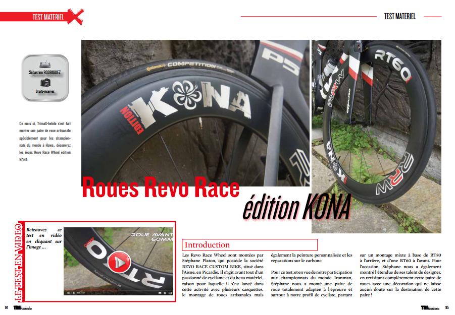 A lire dans TrimaX#146 : Roues Revo Race édition KONA