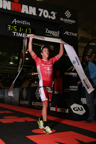 Ironman 70.3 Austin: Appleton devant Starykowicz, Karl Shaw 10ème