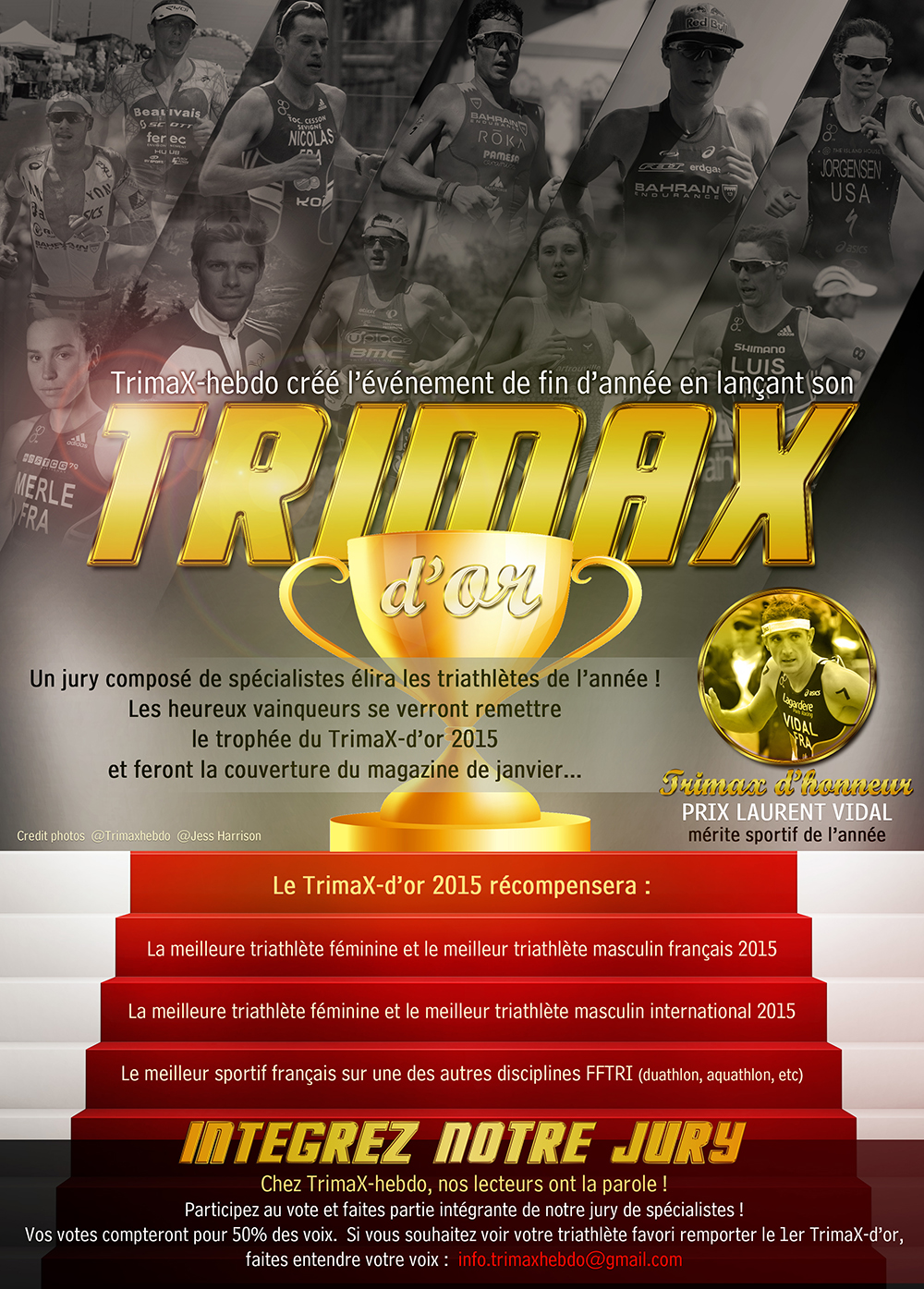 Élisez le Trimax d'Or 2015