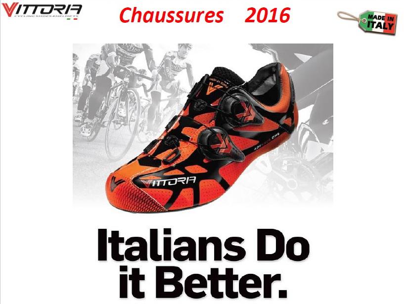 Vittoria / Gamme Chaussures Vintage 2016