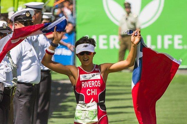 Ironman 70.3 Pucon: Victoire de Riveros et Collins