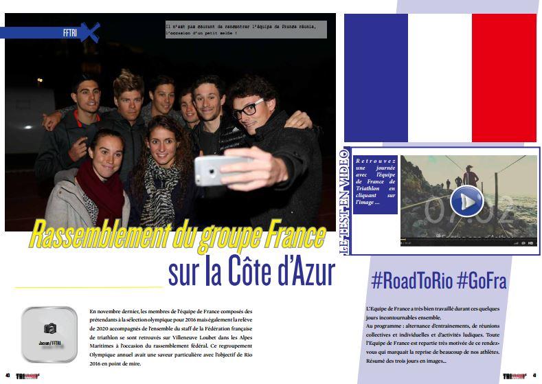 Rassemblement du groupe France sur la Côte d'Azur à lire dans TrimaX#148