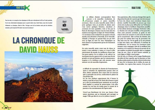 LA CHRONIQUE DE DAVID HAUSS