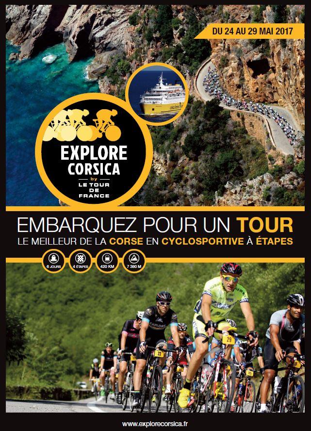 EXPLORE CORSICA BY LE TOUR DE FRANCE 24 au 29 mai 2017