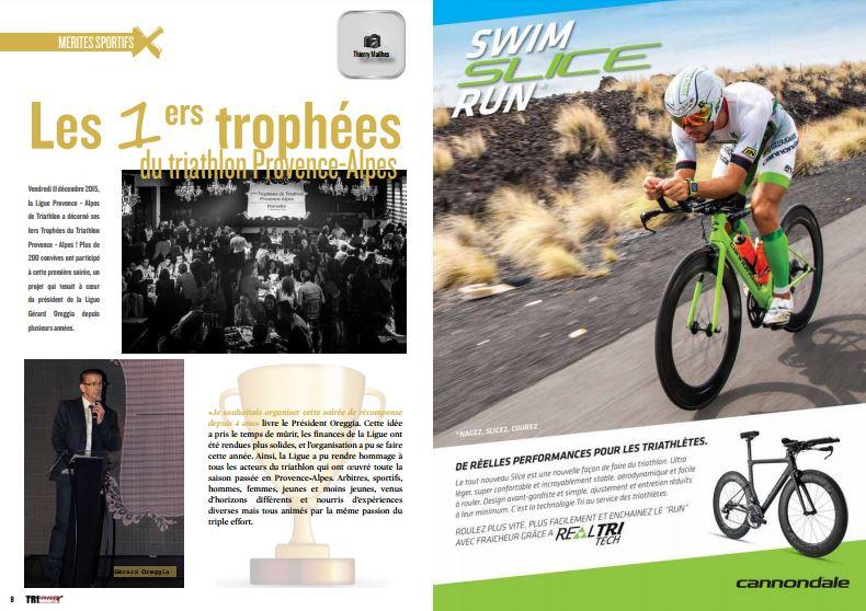 A lire dans TrimaX#148 : les 1ers trophées du triathlon Provence-Alpes