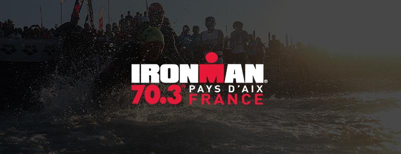 Votre départ IRONMAN 70.3 Pays d'Aix en Rolling Start