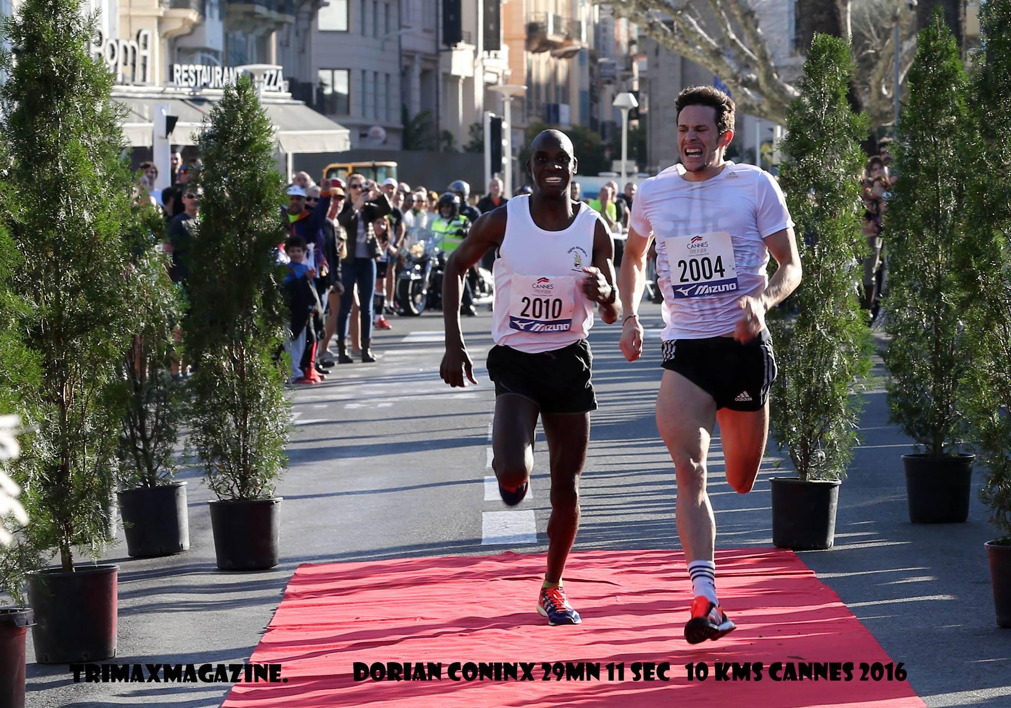10km de Cannes : La réponse de Coninx 29:11