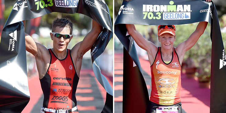 Ironman 70.3 Geelong: le titre pour Montgomery et Hauschildt, Viennot 2ème
