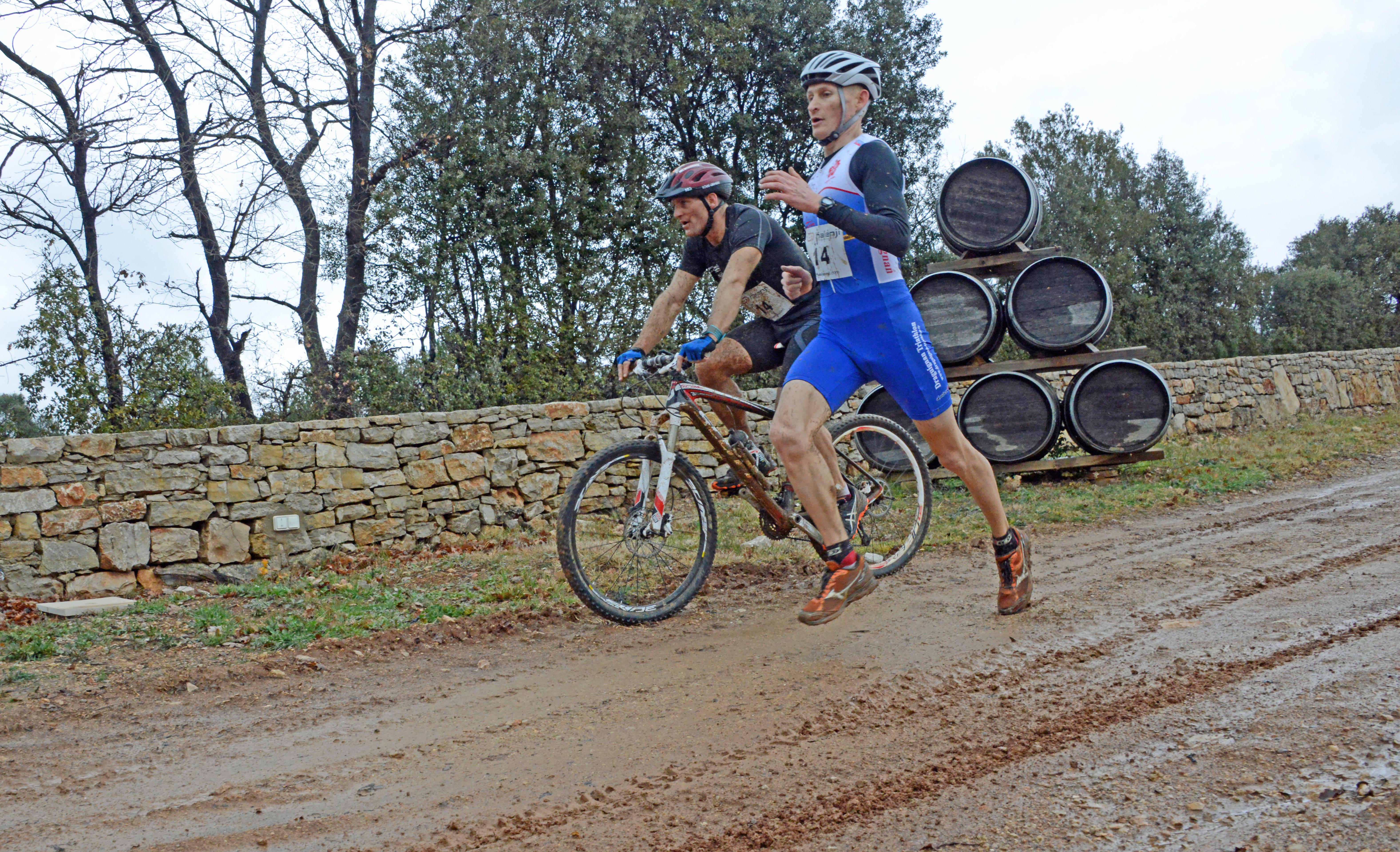 Dimanche 28 février : Bike & Run de la St Valentin à Lorgues (83)