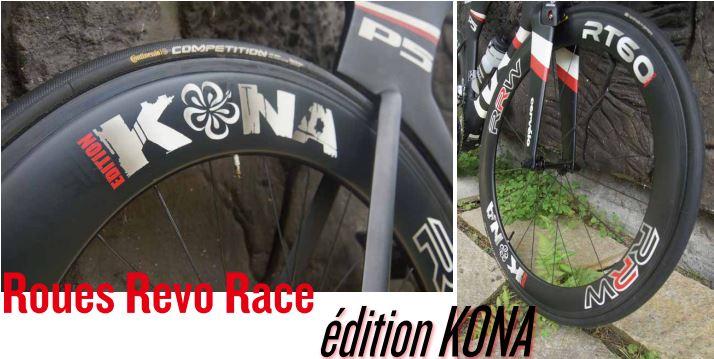 TEST MATERIEL : Roues Revo Race édition KONA